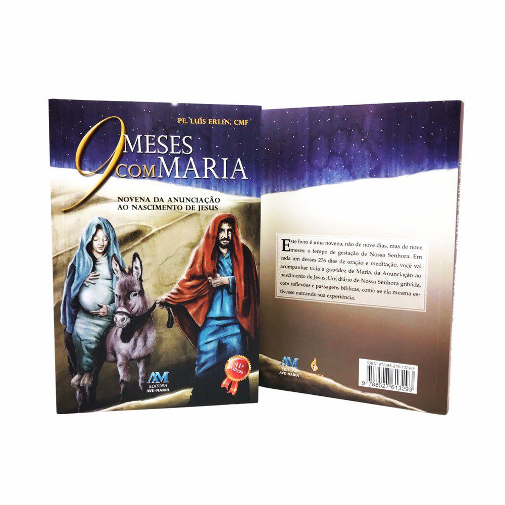 LIVRO 9 MESES COM MARIA - PADRE LUIS ERLIN