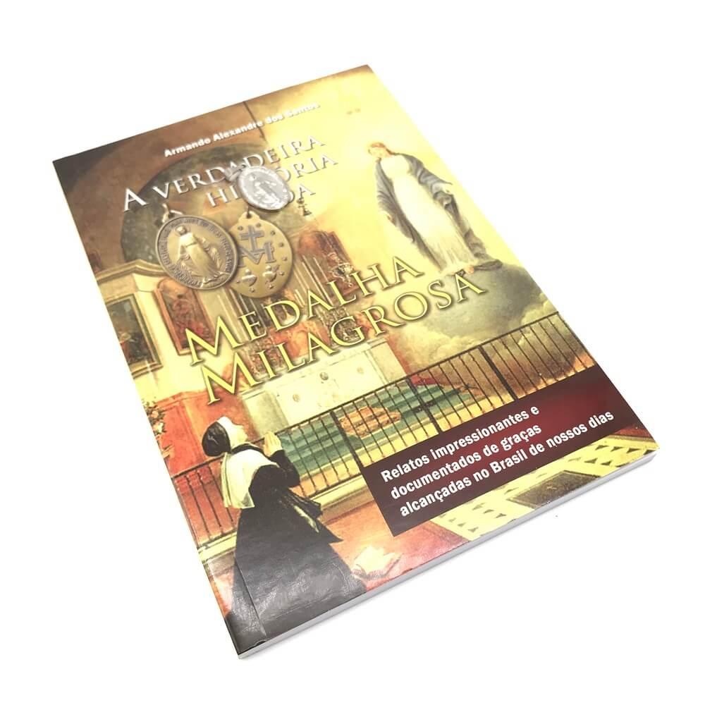 Livro A Verdadeira História Da Medalha Milagrosa - Armando Alexandre Dos Santos