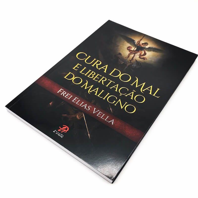 Livro Cura do Mal e Libertação do Maligno - Frei Elias Vella