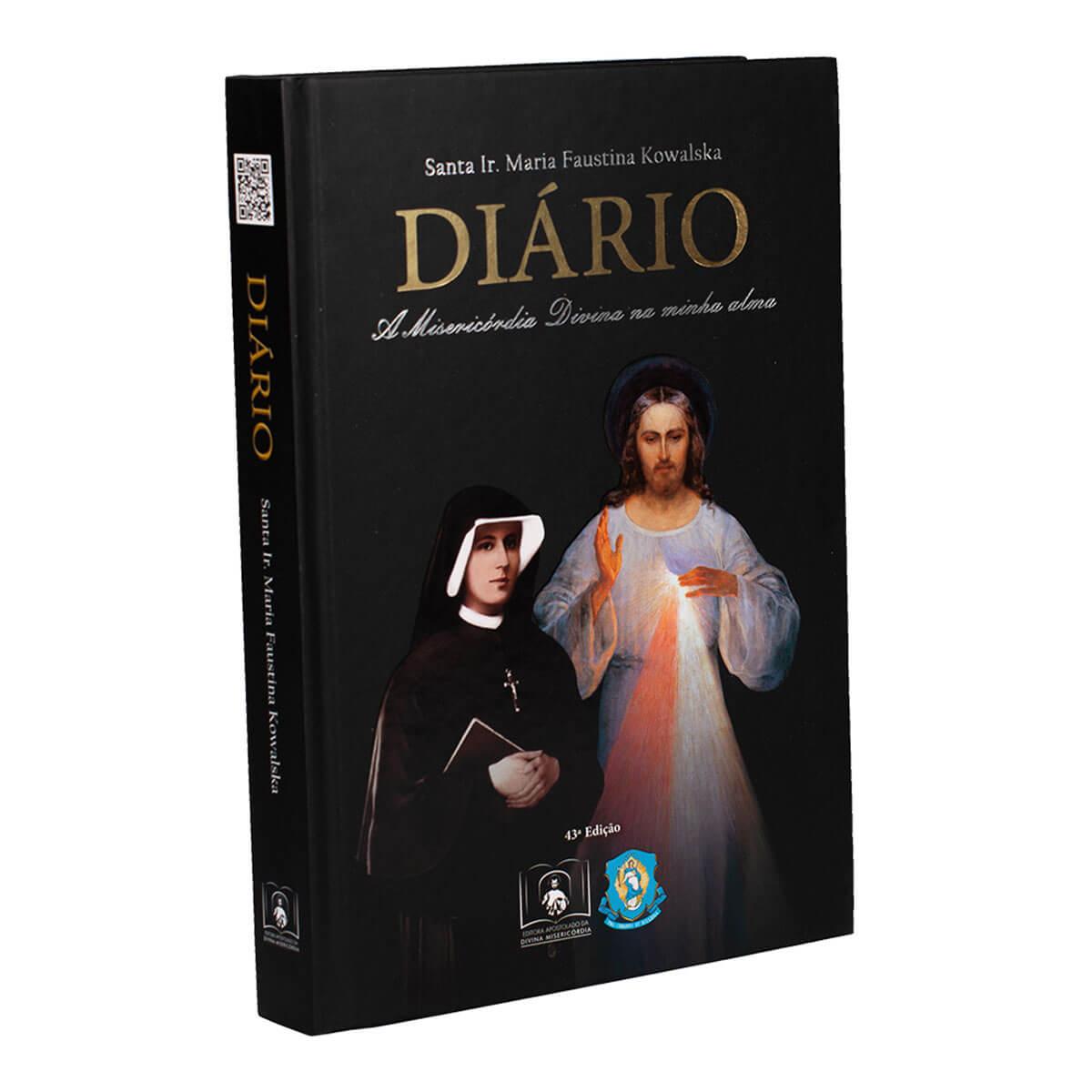 Livro Diário De Santa Faustina Capa Dura