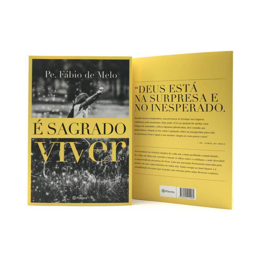 LIVRO É SAGRADO VIVER - PADRE FÁBIO DE MELO