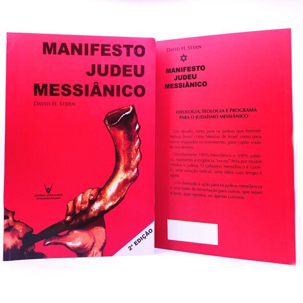 LIVRO MANIFESTO JUDEU MESSIANICO: IDEOLOGIA E TEOLOGIA - DAVID H. STERN