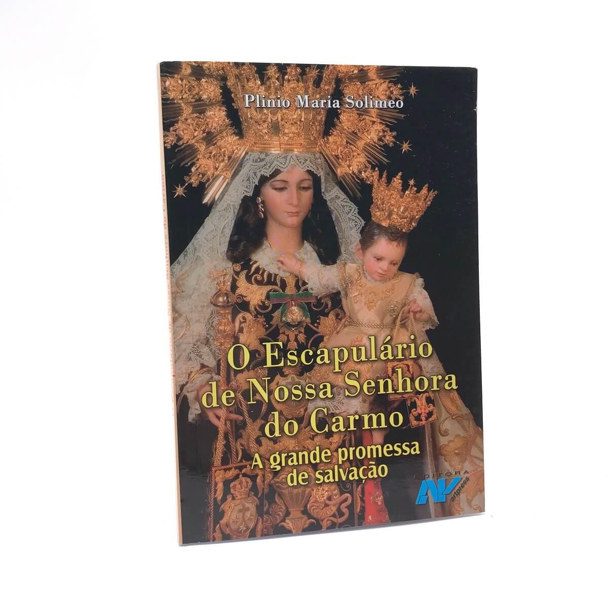 Livro O Escapulario De Nossa Senhora Do Carmo - Plinio Maria Solimeo