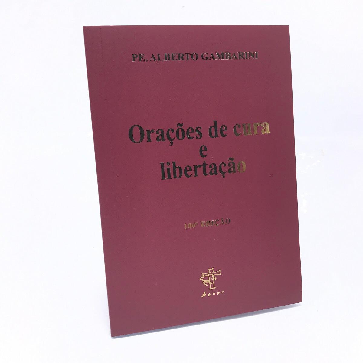 Livro Orações De Cura E Libertação Padre Alberto Luiz Gambarini