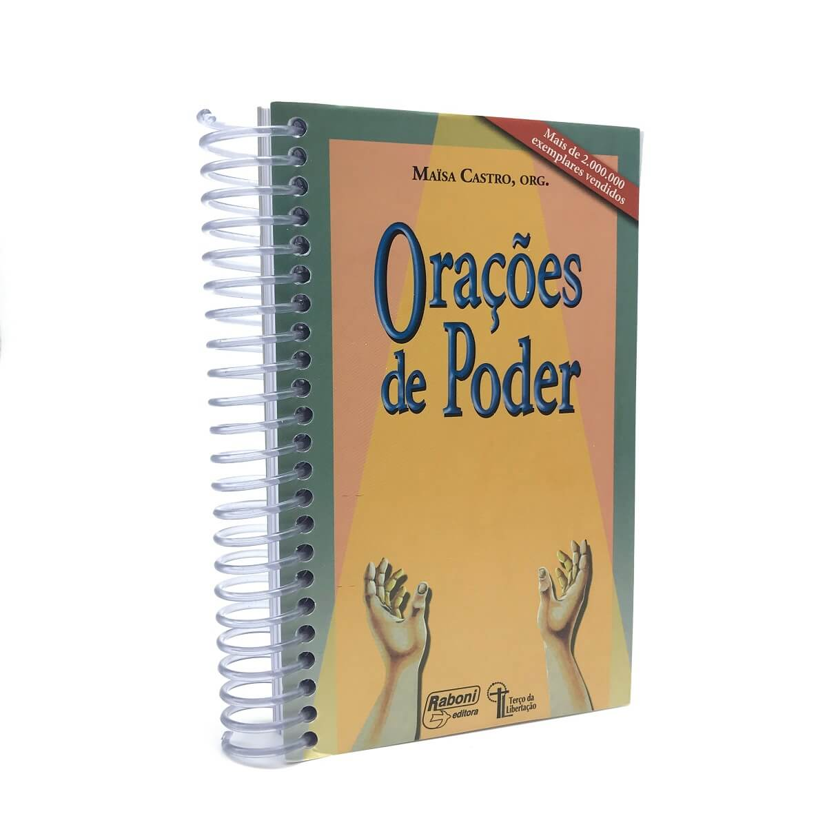 Livro Orações de Poder I - Maisa Castro (Espiral)