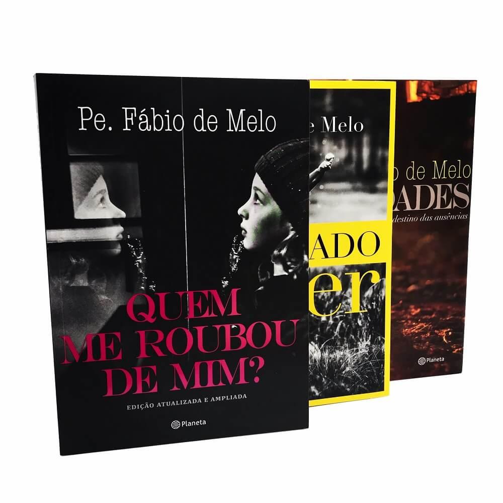 LIVRO QUEM ME ROUBOU DE MIM + ORFANDADES + É SAGRADO VIVER FABIO DE MELO