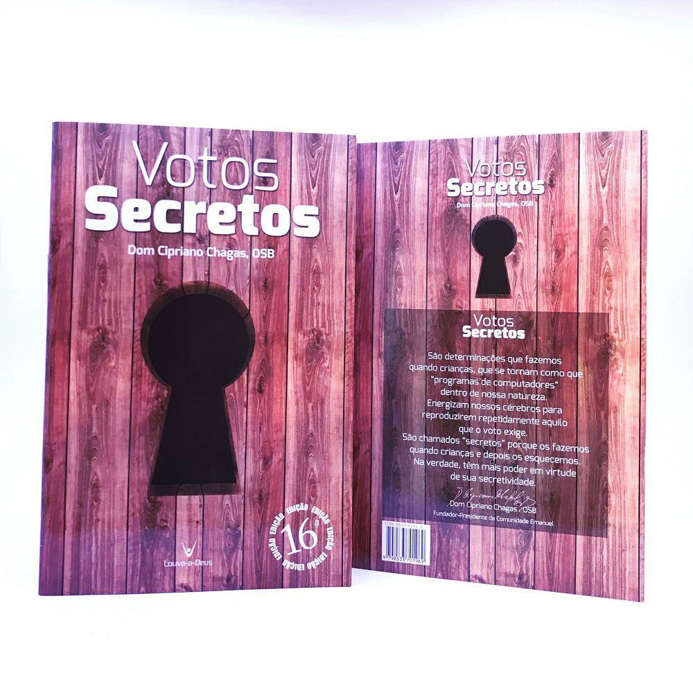 Livro Votos Secretos - Dom Cipriano Chagas