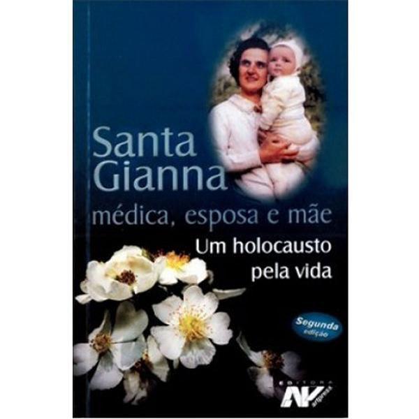 Livro Santa Gianna medica esposa e mae