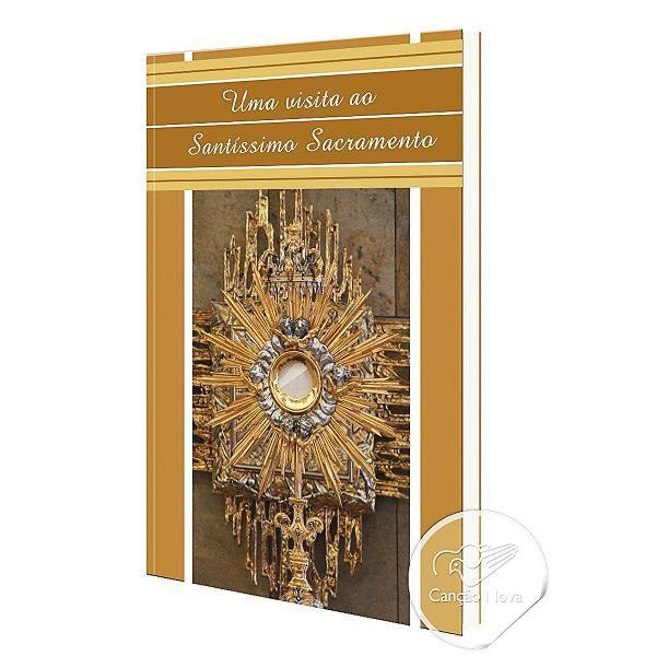 Livro Uma visita ao Santissimo Sacramento - Padre Jonas Abib