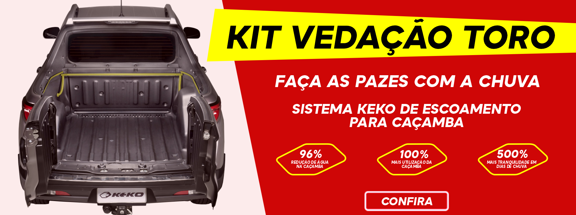 Kit vedação Toro