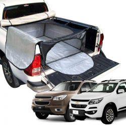 Bolsa caçamba estendida horizontal Nova S10 cabine dupla 2012 a 2020