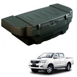 Caixa para caçamba Bepo 280 litros com kit de fixação Hilux cabine dupla 2005 a 2015