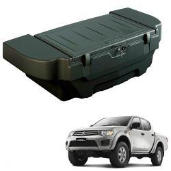 Caixa para caçamba Bepo 280 litros com kit de fixação L200 Triton 2008 a 2016