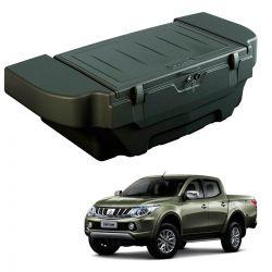 Caixa para caçamba Bepo 280 litros com kit de fixação L200 Triton Sport 2017 a 2020 e L200 Triton Outdoor 2021