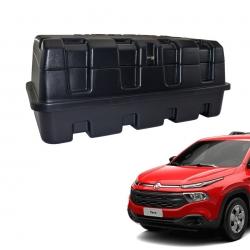 Caixa para caçamba Motobul 140 litros Fiat Toro 2017 a 2022