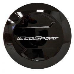 Capa de estepe Bepo rígida Ecosport 2018 2019 2020 cor Preto Bristol