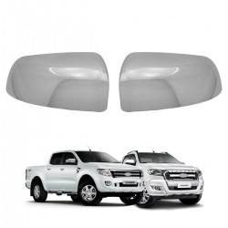 Capa de retrovisor cromada Nova Ranger 2013 a 2020