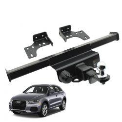 Engate de reboque Audi Q3 2013 a 2019 Keko K1 removível 750 kg