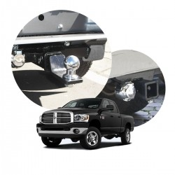 Engate de reboque Dodge Ram 2005 a 2011 removível tração 1000 Kg