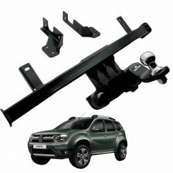 Engate de reboque Duster 4x2 2012 a 2020 Keko K1 removível 750 kg