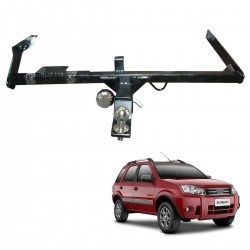 Engate de reboque Ecosport 2003 a 2012 removível 1000 Kg