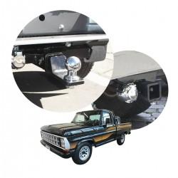 Engate de reboque F1000 1979 a 1992 removível tração 1000 Kg