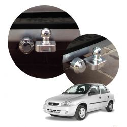 Engate de reboque fixo Corsa Sedan até 2001 ou Classic 2005 a 2009