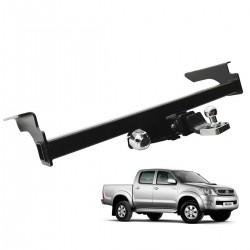 Engate de reboque Hilux 2005 a 2015 Rek Strong removível 2500 Kg
