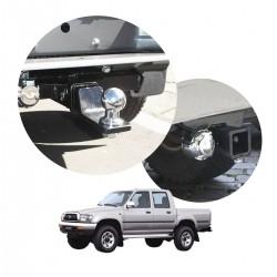 Engate de reboque Hilux cabine dupla 1992 a 2004 removível tração 1000 Kg