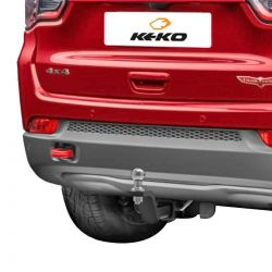 Engate de reboque Jeep Compass 2017 2018 2019 2020 Trailhawk Keko K1 removível 750 kg
