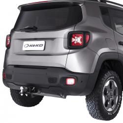 Engate de reboque Jeep Renegade 2016 a 2021 Keko K1 removível 750 kg