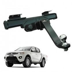 Engate de reboque L200 Triton 2012 a 2016 GLX, GLS e Outdoor Keko K1 removível 1500 kg