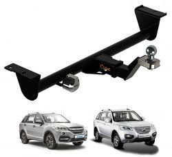 Engate de reboque Lifan X60 2013 a 2019 Gedeval removível 900 Kg