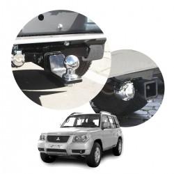 Engate de reboque Pajero TR4 2003 a 2009 removível tração 400 Kg