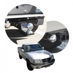 Engate de reboque S10 1995 a 2000 removível tração 1000 Kg
