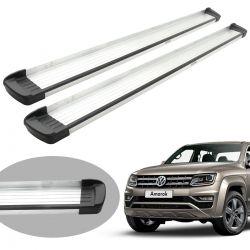 Estribo Bepo G3 alumínio Amarok cabine dupla 2011 a 2020