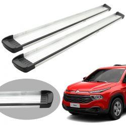 Estribo Bepo G3 alumínio Fiat Toro 2017 2018 2019 2020