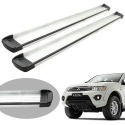 Estribo Bepo G3 alumínio L200 Triton 2008 a 2016