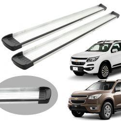 Estribo Bepo G3 alumínio Nova S10 cabine dupla 2012 a 2020