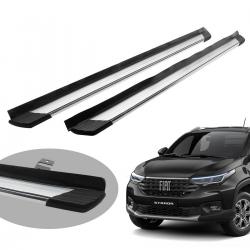 Estribo Bepo SUV 2 alumínio polido Nova Strada 2021