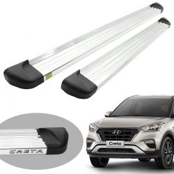 Estribo plataforma alumínio Hyundai Creta 2017 2018 2019 2020