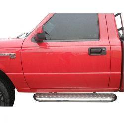 Estribo plataforma cromado F1000 1993 a 1998