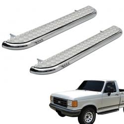 Estribo plataforma cromado roda a roda F1000 1993 a 1998