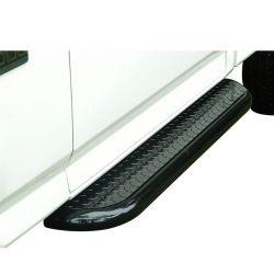 Estribo plataforma preto roda a roda F250 cabine simples 1998 a 2011
