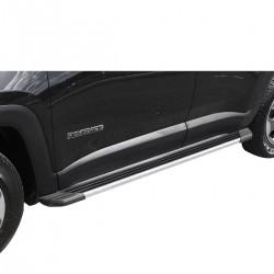Estribo SUV 2 Bepo alumínio polido Jeep Renegade 2016 2017 2018