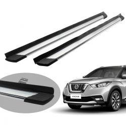 Estribo Bepo SUV 2 alumínio polido Nissan Kicks 2017 2018 2019 2020