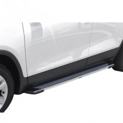 Estribo SUV 2 Bepo alumínio polido Sportage 2011 a 2016