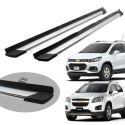 Estribo Bepo SUV 2 alumínio polido Tracker 2014 a 2019