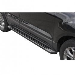 Estribo SUV 2 Bepo alumínio preto Ecosport 2013 a 2019