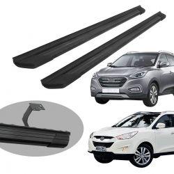 Estribo Bepo SUV 2 alumínio preto IX35 2011 a 2020
